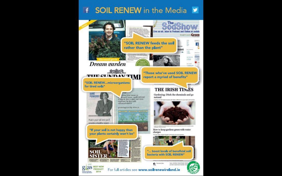 Soil Renew in the Media!